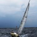 Felicity II. (585), a Mini 650-es óceáni versenyvitorlásom