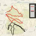 Publikus a Running Warriors térképe
