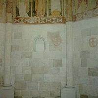 Ócsa, Református templom falképei XIII.század