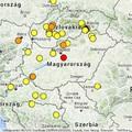 Földrengés Ócsán