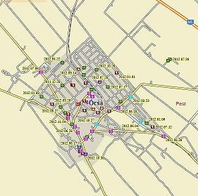 ócsa térkép Ócsa_bűnügyi_térkép   Ócsa.blog.hu ócsa térkép