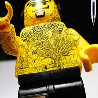 A legzoralabb tetovált lego figurák!