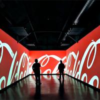 Coca-Cola: A jövő szobája. Merülj el a márkában.