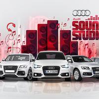 Komponálj zenét motorhangokkal! Audi Sound Studio