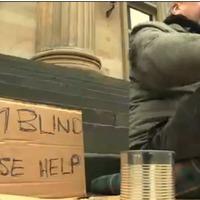 A szavaknak ereje van! Ezt bizonyítja egy vak hajléktalan példája is!