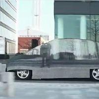 Megszületett a láthatatlan autó, ami mégis látványosság lett!