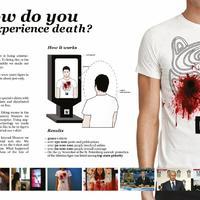 Téged lőttek már le?! Vérző pólókat kaptak a vásárlók!
