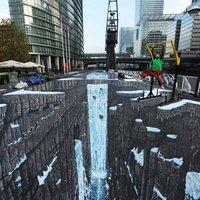A világ legnagyobb 3D-s aszfaltrajza! Guinness rekord!
