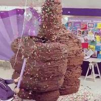 Három tonna csokoládé!