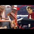 A Hajléktalan Odament A Zongorához És Megváltoztatta Az Életét