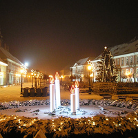 Karácsonyi körkép magyar városokról