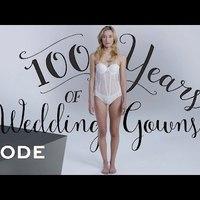 100 év esküvői divatja