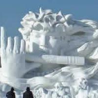 Hó-, és jégszobrok