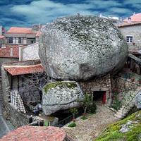 Monsanto, a sziklák közé épült falu