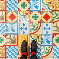 Velence kerámia padlói is híresek