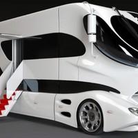 Mobilház is lehet luxus kategória.