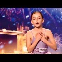 A 10 éves Hollie Steel a British Got Talent-ben