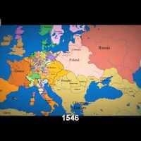 Európa elmúlt ezer éve térképen