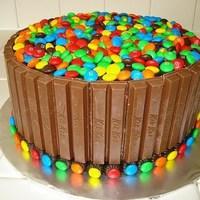 Kit Kat & M&M torta
