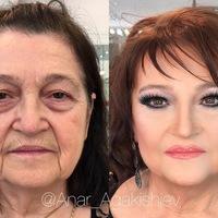 Anar Agakishiev sminkes, aki 80 éves nagyikat kb 30 évesre sminkeli