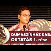 Dumaszínház Kabaré - Oktatás