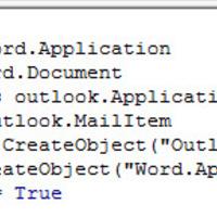 E-mail küldés Outlookból Wordben tárolt standard szöveg alapján