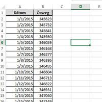 Formulák helyett ismerkedjünk a PIVOT-táblák összes beépített lehetőségével