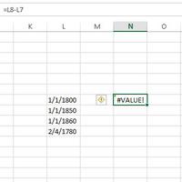 Műveletek 1900 előtti dátumokkal Excelben