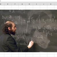 Exceles képszerkesztés avagy nagy matematikusok beillesztése egy táblázatba