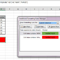 Conditional Formatting alakzatokra