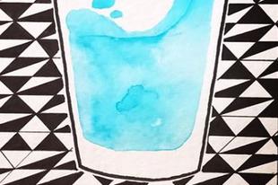 A nap, amikor a lányom képen öntött egy pohár vízzel