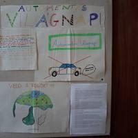 Autómentes világnak az öko-faliújságon