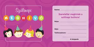 szülinapi meghívó készitése Szülinapi Meghívó Images — YinHe438 szülinapi meghívó készitése