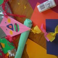 Papírsárkány készítése