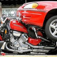Motoros veszélyben - Hirtelen megállás