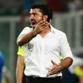 Gattuso tovább lángol, most kiállították