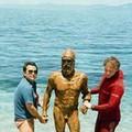Egy amatőr búvár és két 2500 éves görög bronzszobor
