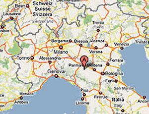 Eszak Olaszorszag Terkep Marlpoint