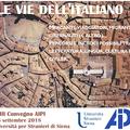 Migránsok és hálóhajósok - AIPI konferencia, 2018, Siena