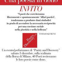 Affari poetici davanti alla Borsa - Költői ügyletek a Börzén