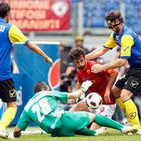 Elmaradt a gólzápor, a Roma egy góllal nyert a Chievo ellen