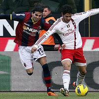 A Milan nem tudott nyerni Bolognában