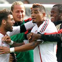 A Milan háromgólos hátrányból nyert, Boateng triplázott