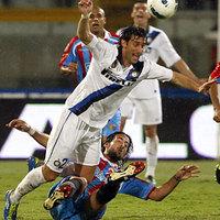 Bajban az Inter! A Catania négy perc alatt fordított