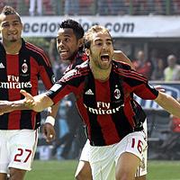 A Milannak egy pont kell a bajnoki címhez
