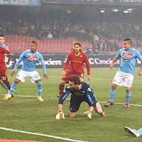 Három gólt szerzett és nyert a Roma Nápolyban