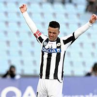 Di Natale a második helyre lőtte az Udinesét
