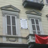Kossuth emléke Torinóban