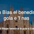 San Biagio vagyis Szent Balázs és a panettone története