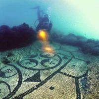 Elsüllyedt város, szobrok a tengerben...Itália különleges vízalatti világa